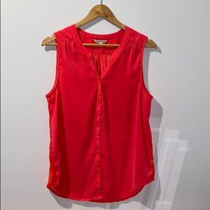 American Eagle Outfitters Sleeveless Button Down L